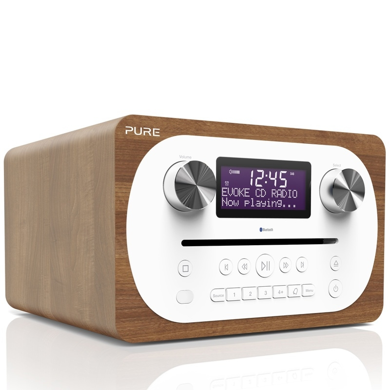 Pure Evoke C-D4 digitale DAB+ radio met CD en Bluetooth, OPEN DOOS