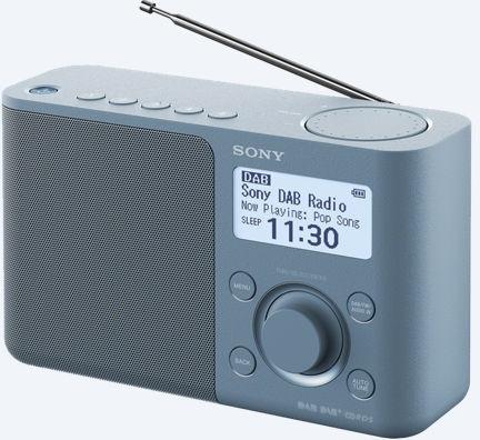 Sony  XDR-S61D Portable Digitale radio DAB+ FM, blauw