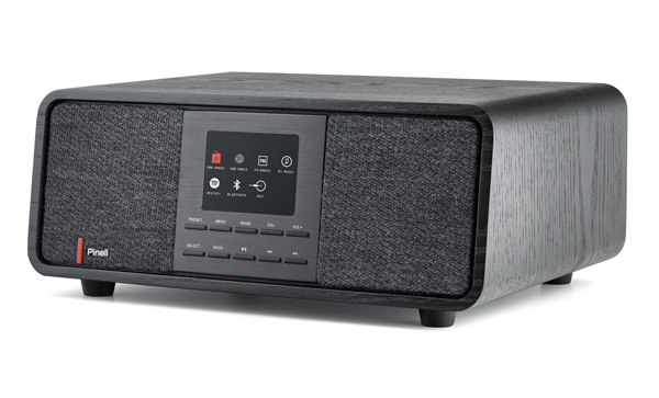 Pinell Supersound 501 DAB+ stereo radio met internet, Spotify Connect en Bluetooth