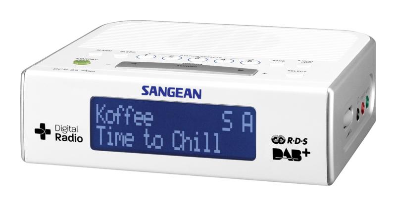 Sangean DCR-89+ DAB+ en FM wekker radio