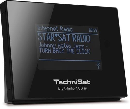 TechniSat DigitRadio 100 IR settopbox met internet, DAB+ en FM voor stereo installaties