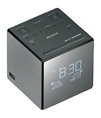 Sony XDR-C1DBP DAB+ en FM wekkerradio