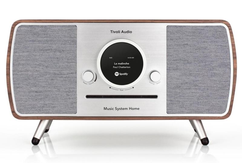 Tivoli Audio ART Music System Home alles-in-één hifi-systeem met internet, DAB+, FM, Spotify en Bluetooth, walnoot
