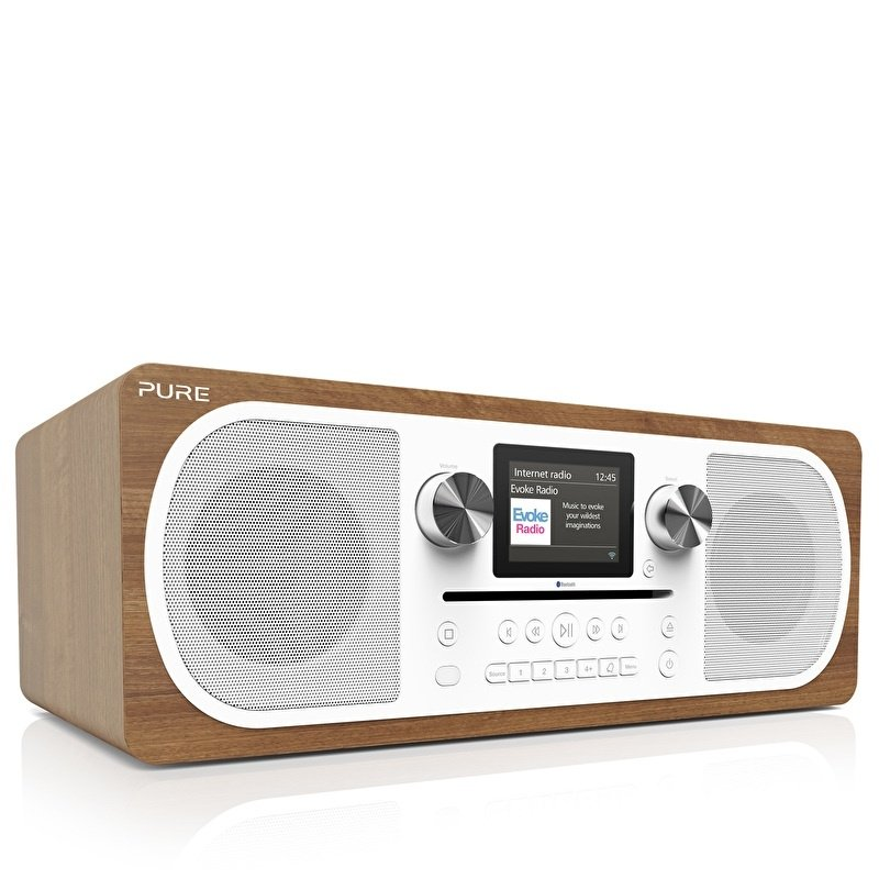 Pure Evoke C-F6 stereo all-in-one muzieksysteem met CD, DAB+, internetradio en Bluetooth
