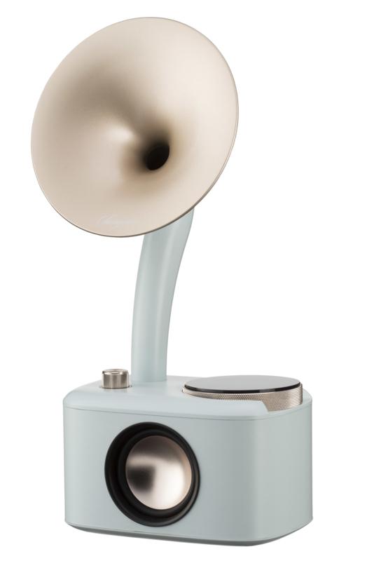 Sangean CP-100D DAB+ en FM retro radio met Bluetooth met ingebouwde accu, Minty Gold