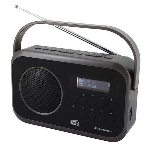 Soundmaster DAB270 SW draagbare radio met DAB+, FM en alarm, zwart