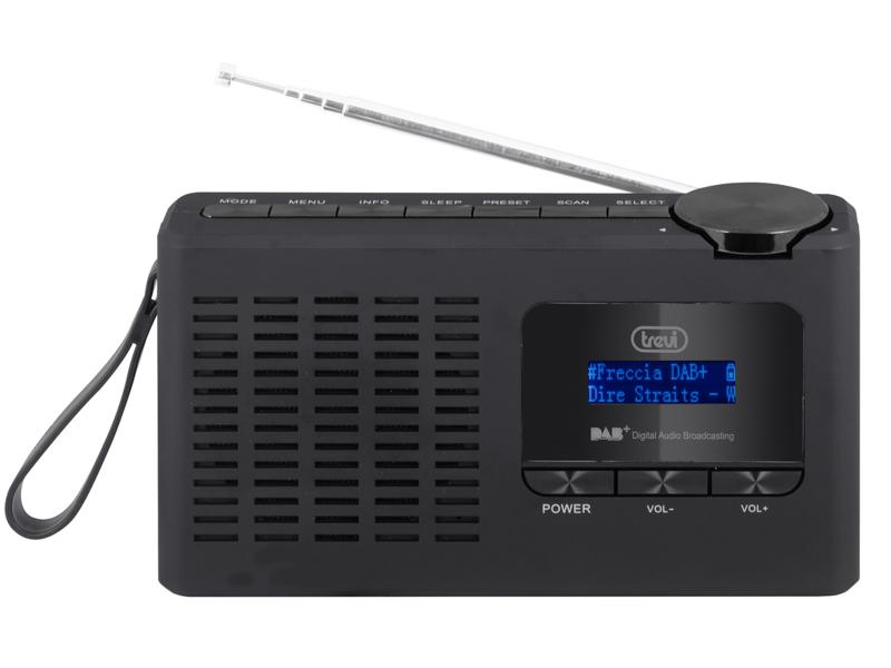 Trevi DAB 7F94 R draagbare radio met DAB+ en FM