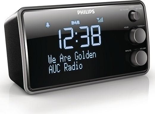 Philips wekkerradio AJB3552/12 met FM en DAB+