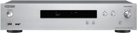 Onkyo NS-6170 netwerk audio speler met DAB+ radio en USB, zilver