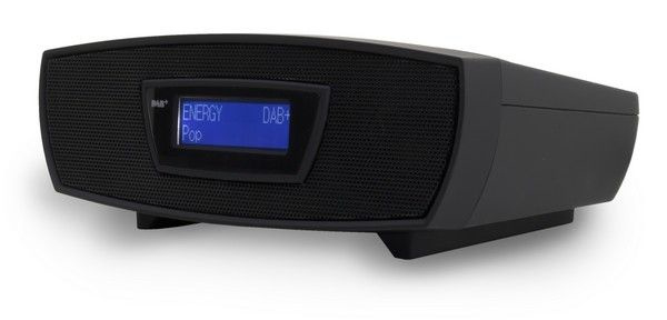 Soundmaster URD480SW stereo DAB+ en FM radio met CD en USB speler, zwart