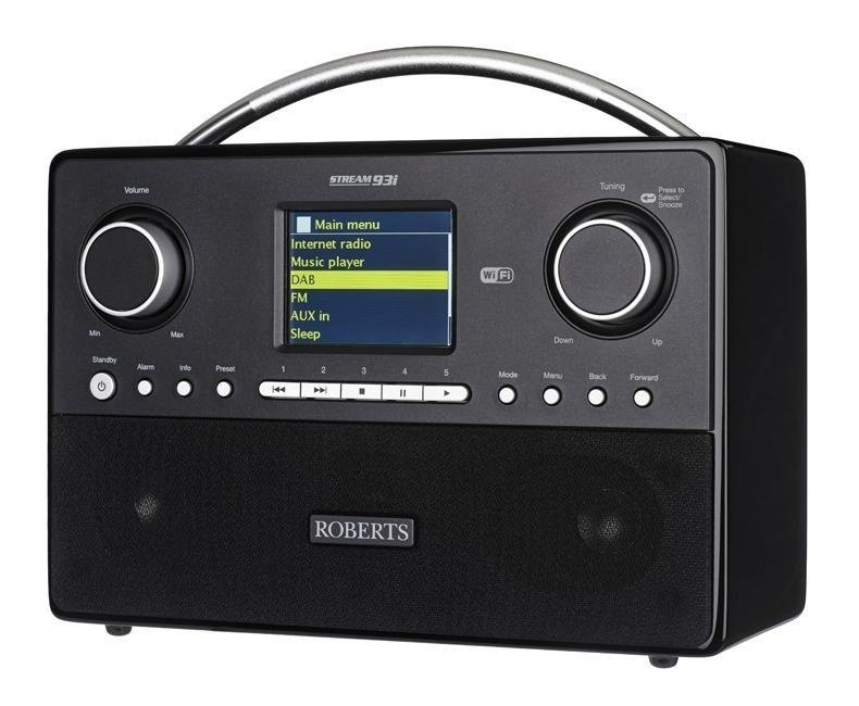 Roberts Stream 93i internetradio met DAB+, Spotify, USB en kleurenscherm