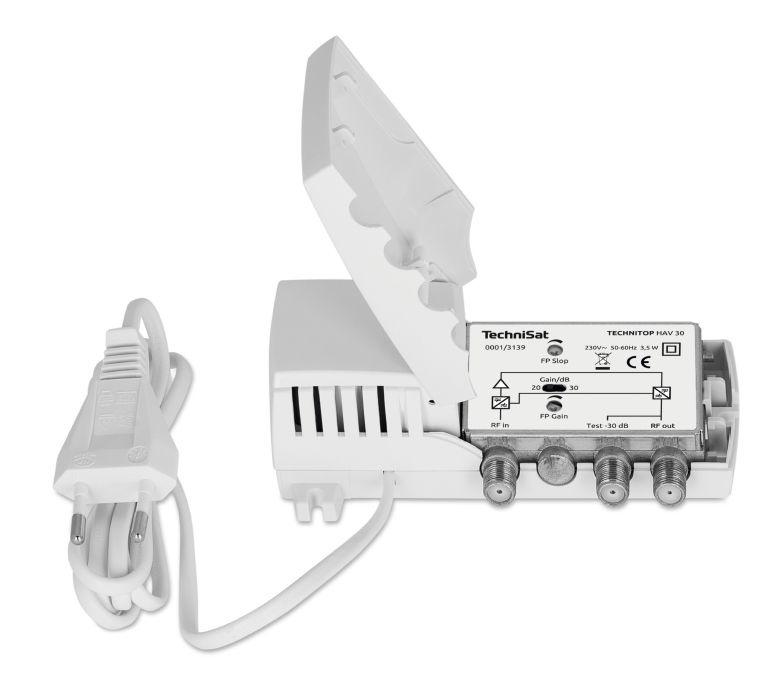 TechniSat HAV 30 DAB+ antenne versterker module