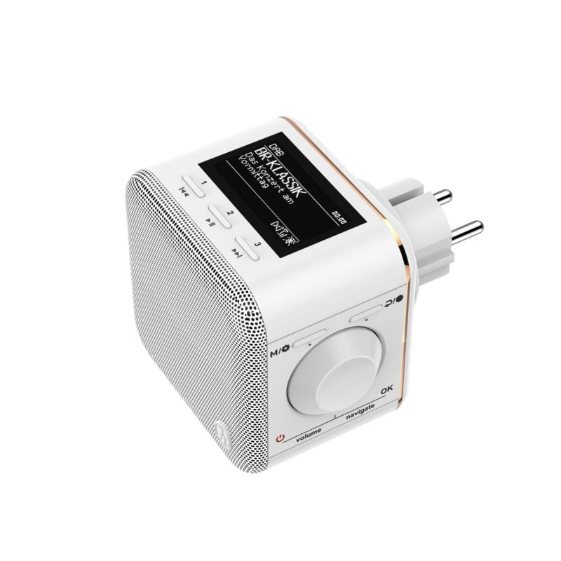 Hama DR40BT-PlugIn digitale radio met DAB+, FM en Bluetooth