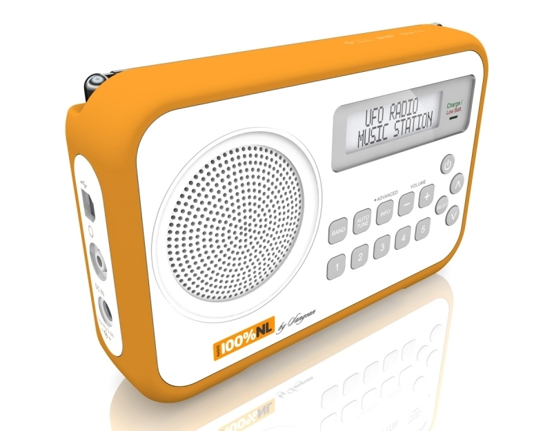 Sangean 100% NL DAB+ en FM draagbare radio