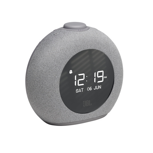 JBL Horizon 2 stereo DAB+ en FM wekker radio met Bluetooth en nachtlamp, grijs