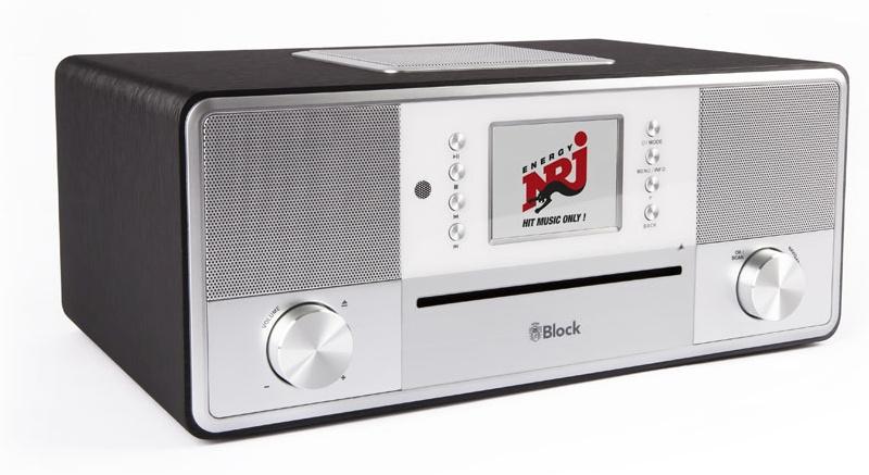 Block SR-50 Smartradio all-in-one stereo 2.1 radio met CD, internetradio, DAB+, Spotify, USB en Bluetooth, graphite