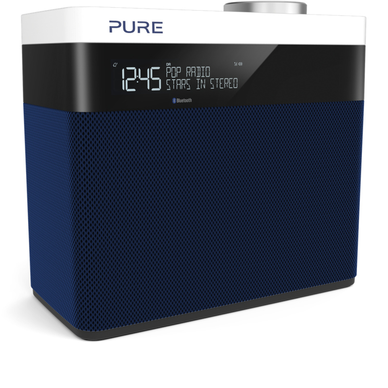 Pure Pop Maxi S stereo DAB+ en FM radio met Bluetooth, navy