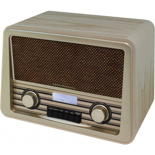 Soundmaster NR920HBR Retro Stereo DAB+ en FM radio