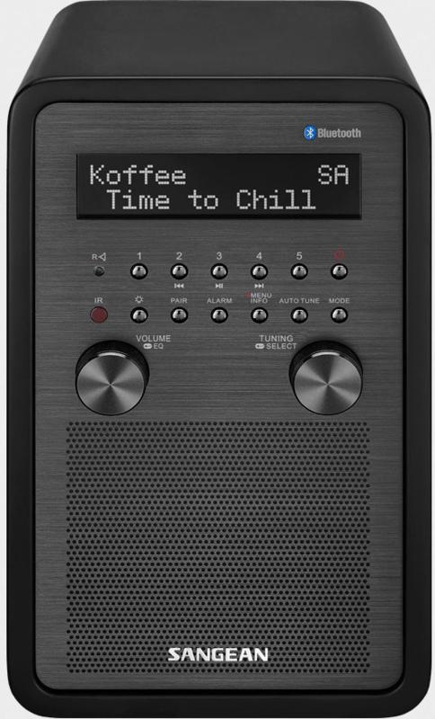 Sangean Epoch 600 (DDR-60) DAB+ radio met FM en Bluetooth