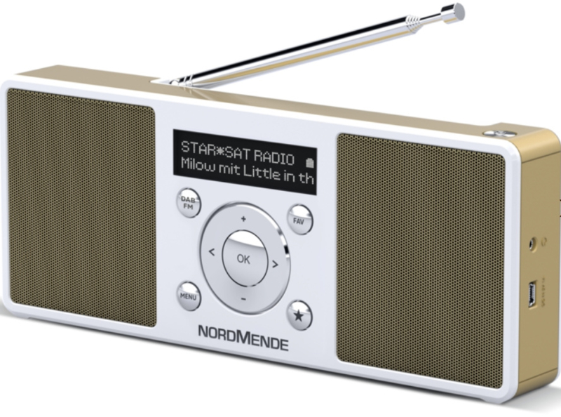 Nordmende Transita 200 stereo oplaadbare draagbare DAB+ en FM radio