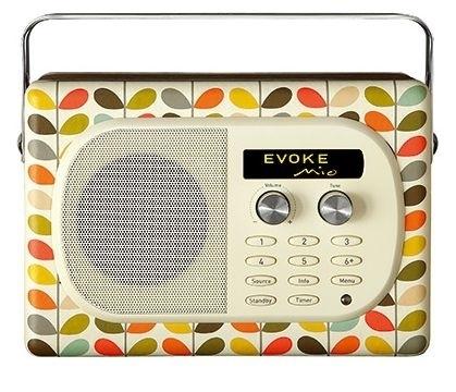 Pure Stem Evoke Mio by Orla Kiely, DAB+ en FM radio