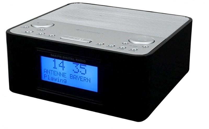 Soundmaster UR170SW digitale DAB+ en FM wekkerradio, zwart