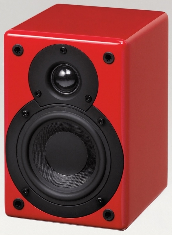 Scansonic S4 mini luidspreker, rood