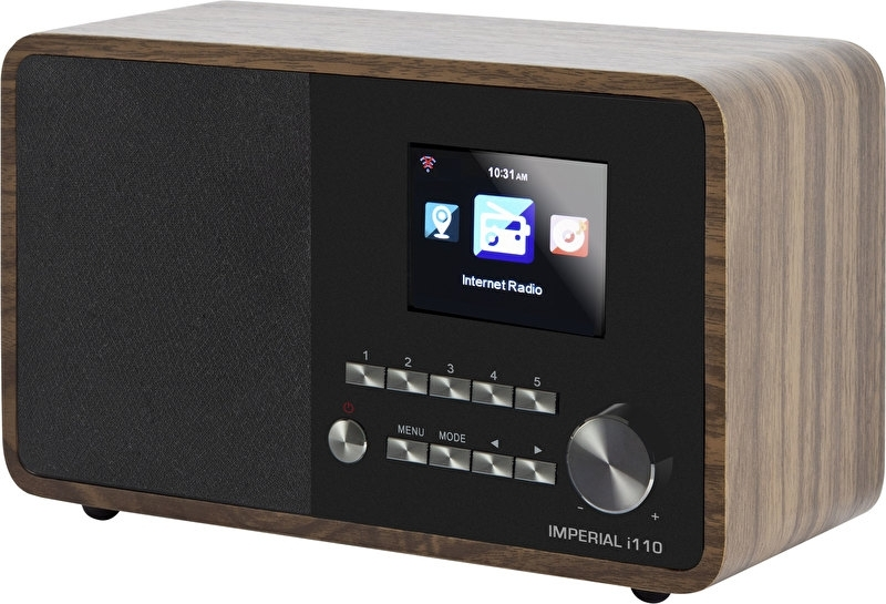 Imperial i110 wifi internetradio met USB, hout
