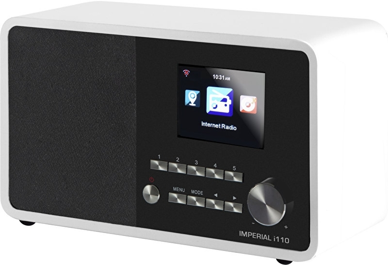 Imperial i110 wifi internetradio met USB, wit
