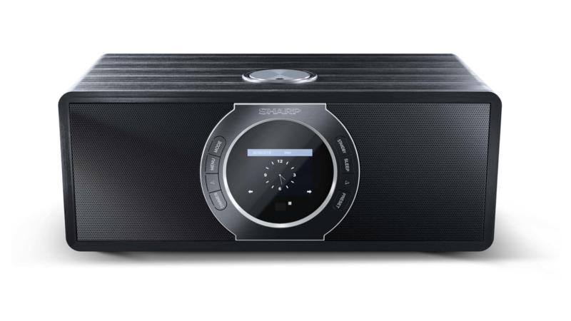 Sharp DR-S460 stereo DAB+ radio met FM en Bluetooth, zwart