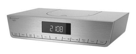 Soundmaster UR2016SI stereo DAB+ en FM onderbouw keukenradio, zilver