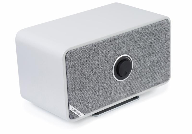 Ruark Audio MRx connected draadloze stereo luidspreker met internetradio, Bluetooth en multiroom, Soft Grey