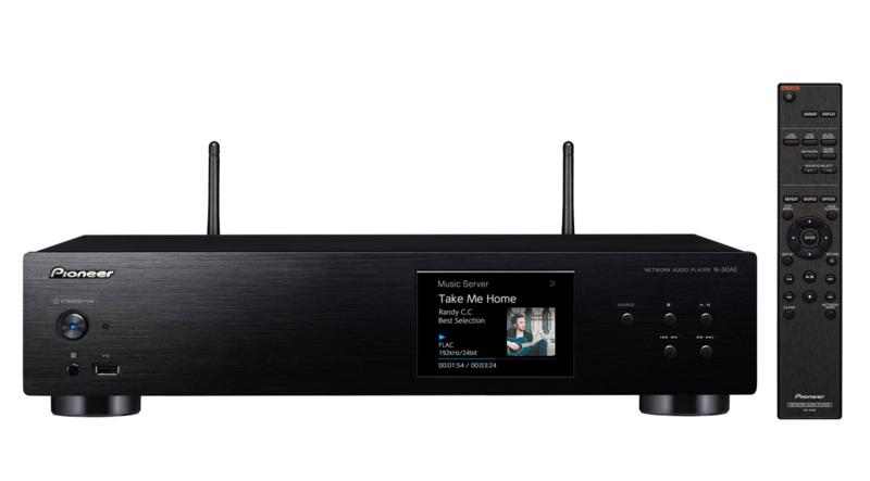 Pioneer N-30AE hifi stereo netwerk wifi internet audio speler, zwart