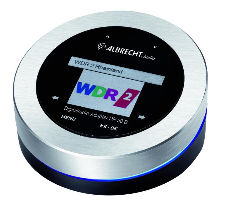 Albrecht DR 50 B, DAB+/FM radio tuner met Bluetooth ontvangst