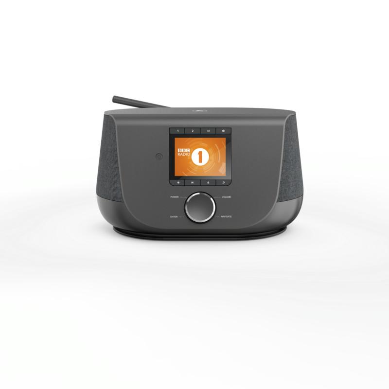 Hama DIR3300SBT stereo hybride digital radio met internet, DAB+, FM en Bluetooth, zwart
