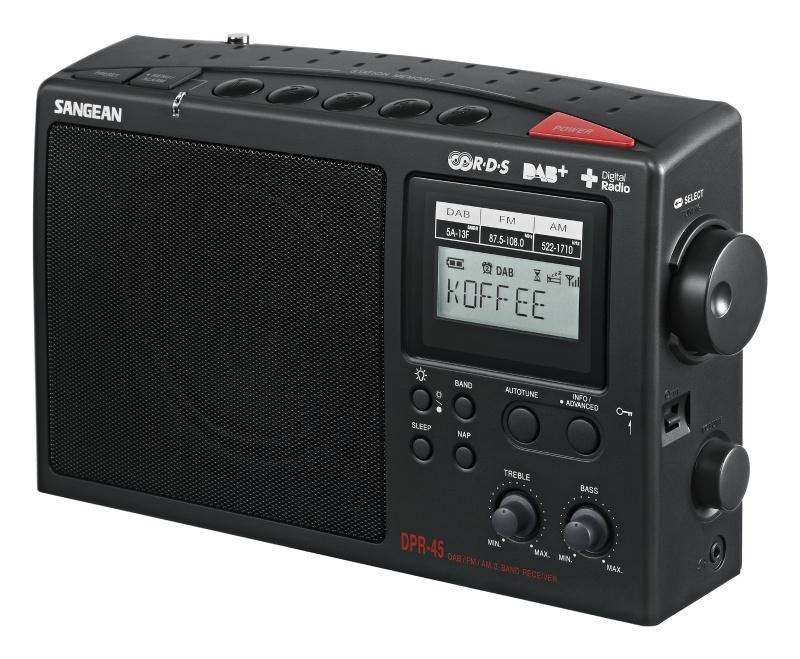 Sangean DPR-45 DAB+ FM en AM radio