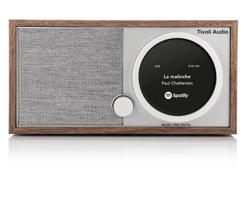 Tivoli Audio ART Model One Digital met internetradio, DAB+, FM, Spotify en Bluetooth, walnoot