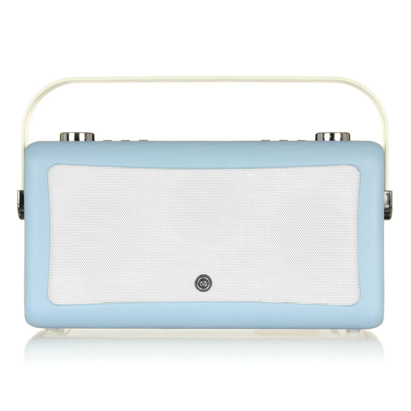 View Quest Hepburn MK 2 DAB+ radio met FM en Bluetooth,  Blue
