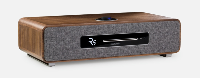 Ruark Audio R5 high end radiosysteem, rich walnut