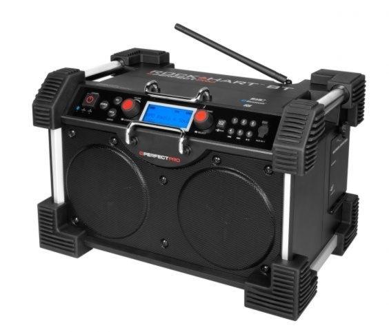 Perfectpro Rockhart BT stereo werkradio met DAB+, FM en Bluetooth