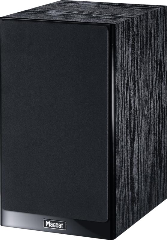 Magnat Signature 503 stereo boekenplank luidspreker set van twee, zwart
