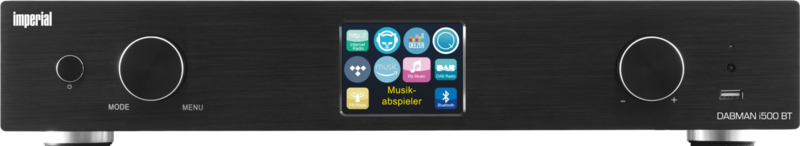 Imperial DABMAN i500 BT hifi stereo tuner met internet, DAB+, FM, USB en Bluetooth