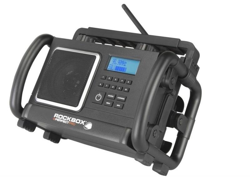 Perfectpro RockBox 2 BT werkradio met DAB+ en FM
