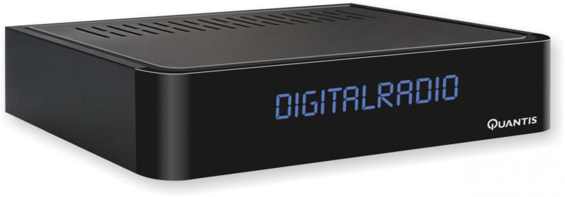 Quantis QE 317 Digitale DVB-C - Radiotuner