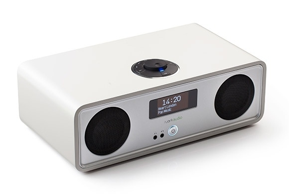 Ruark Audio R2 stereo systeem DAB+, FM, Internetradio, Bluetooth, USB en Spotify, Soft White