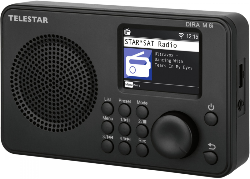 Telestar DIRA M 6i compacte radio met DAB+, FM, Bluetooth, USB en Internet