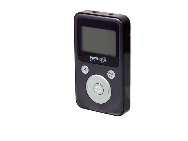POWERplus Condor zakradio met DAB+ / FM en MP3 met opnamefunctie