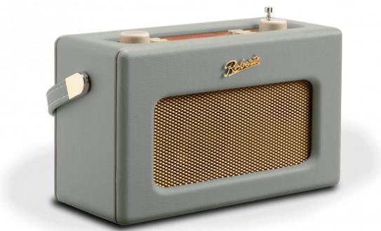 Roberts Revival RD70 DAB+ en FM radio met Bluetooth, Dove Grey