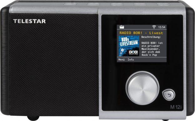 Telestar M 12i compacte wifi internet radio met USB speler en recording
