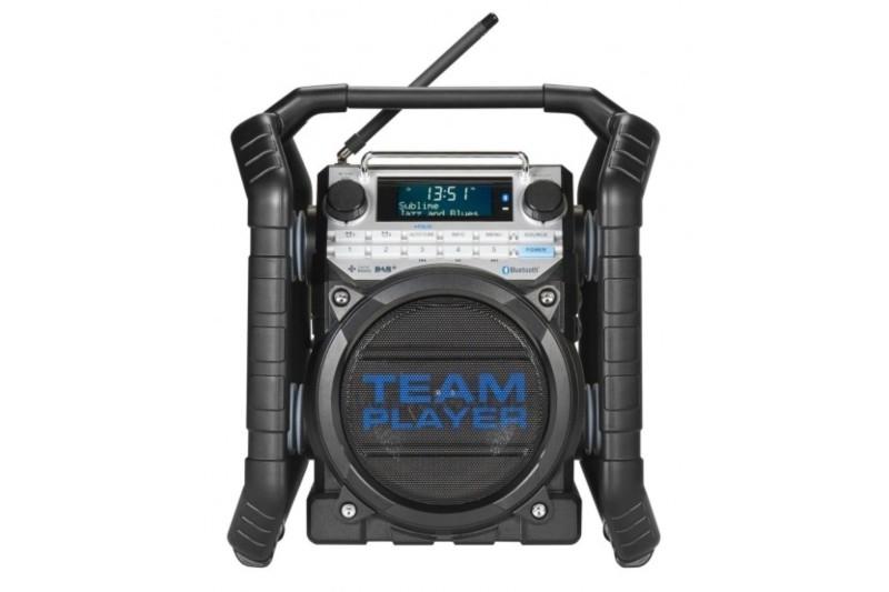 Perfectpro Teamplayer werkradio met DAB+, FM en Bluetooth